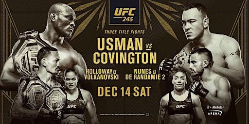 UFC 245: Usman vs. Covington at Red Bar and Lounge