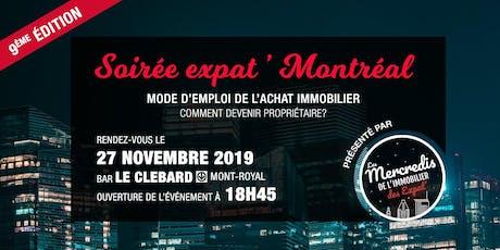 Expat' Montréal : comment devenir propriétaire ? 9ème édition billets