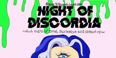 Night of Discordia tickets