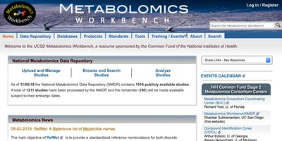 Metabolomics Workbench Presentation by Eoin Fahy