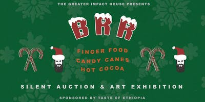 BRR: Silent Auction, Hot Cocoa, Candy Canes + Take-Away Art