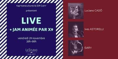 Concerts live + jam session