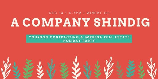 Yourson & Impresa Annual Company Holiday Party