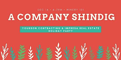 Yourson & Impresa Annual Company Holiday Party