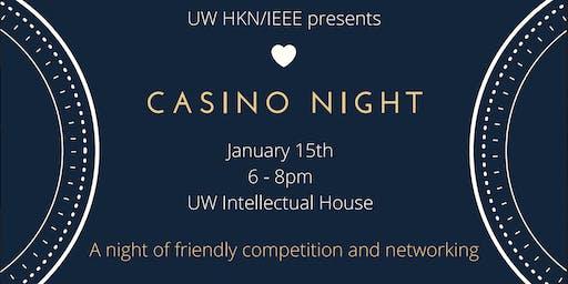 UW Seattle IEEE Casino Night 2020 Industry Ticket