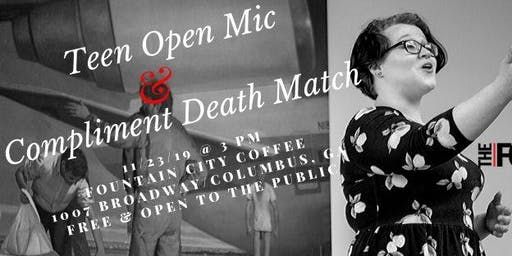 November Youth Open Mic & Compliment Death Match