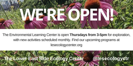 Environmental Learning Center Open Hours tickets