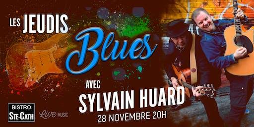 Les jeudis Blues avec Sylvain Huard
