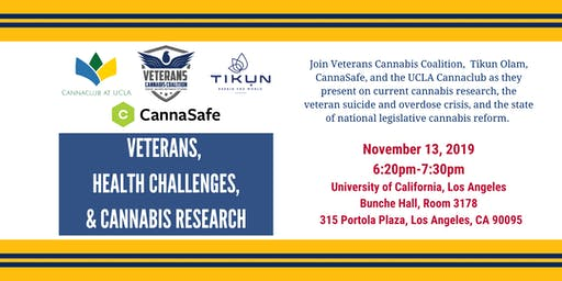 Veterans, Health Challenges, & Cannabis Research