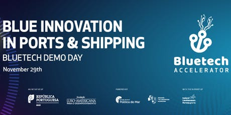 Blue Innovation in Ports & Shipping - Bluetech Demo Day tickets