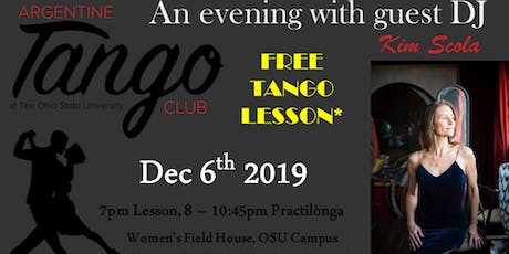 Tango Lesson and Social Dance at OSU tickets