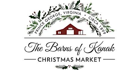 The Barns of Kanak Christmas Market tickets