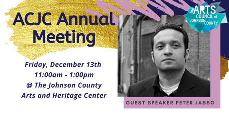 Arts Council of Johnson County's Annual Meeting tickets