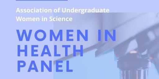 """AUWS presents: """"Women in Health Panel"""""""