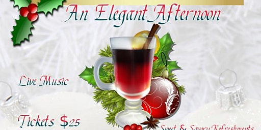 Holiday High Tea - Dec 15th