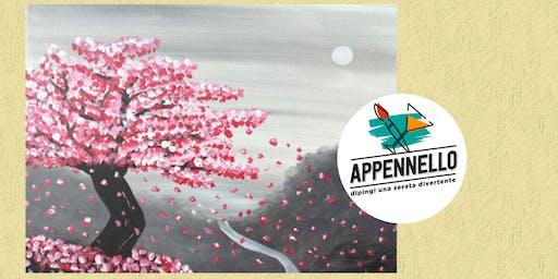 Ciliegio fiorito: aperitivo Appennello a Sirolo (AN)