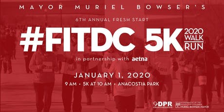 Mayor Muriel Bowser's 6th Annual Fresh Start #FITDC 5K tickets
