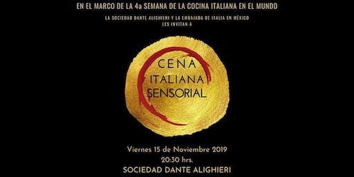 Cena Italiana Sensorial