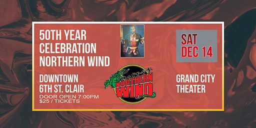 50TH YEAR CELEBRATION NORTHERN WIND