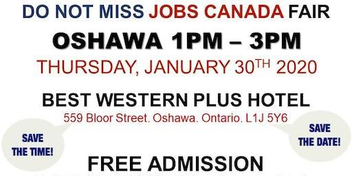 Oshawa Job Fair - January 30th, 2020