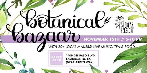 Botanical Bazaar/ Shebear Launch PARTY