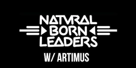Natural Born Leaders / Artimus / Michael Forde and Little Wooden Indian tickets