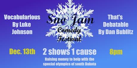 Vocabularious & That's Debatable:  Sno Jam Comedy Festival Edition tickets