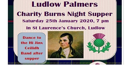 St Laurence's Conservation Trust Burns Night Supper and Ceilidh