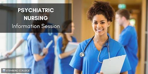 Free Psychiatric Nursing Info Session: November 28 (Vancouver)