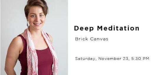 Deep Meditation with Allison Dailey