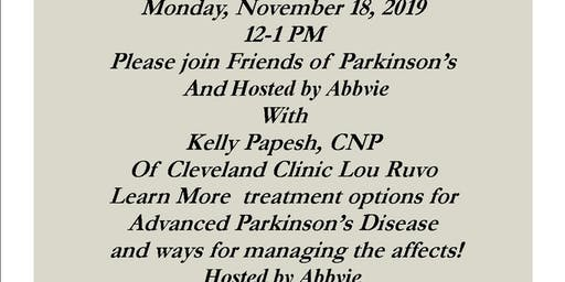 Join Friends of Parkinson's for a  Lunch and Learn at the Bonefish Grill