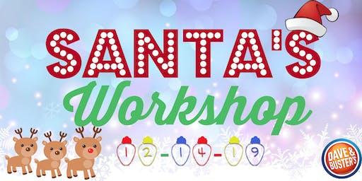 Santa's Workshop at D&B Springfield