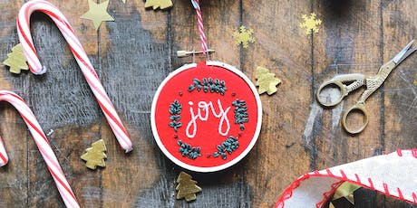 Embroidered Ornaments Workshop tickets