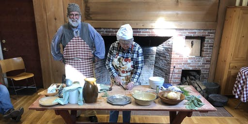 COLONIAL HEARTH COOKING