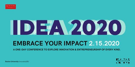 IDEA Conference 2020: Embrace Your Impact tickets