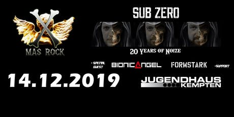 X-MAS-ROCK / 20-JAHRE SUB-ZERO Tickets