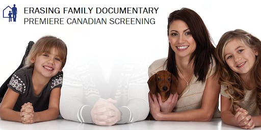 ERASING FAMILY Film Movie Screening