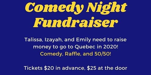 Comedy Night fundraiser with Matthew Murray