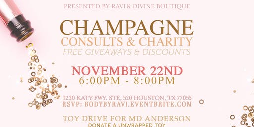 Champagne, Consults & Charity