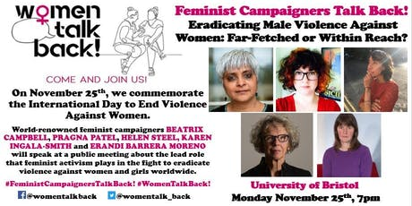 Feminist Campaigners Talk Back! tickets