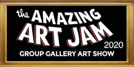 the Amazing Art Jam 2020 tickets