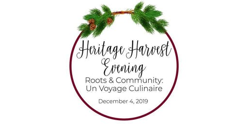 HERITAGE HARVEST EVENING - Roots & Community: Un V