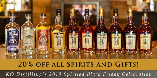 KO Distilling's Spirited Black Friday Celebration