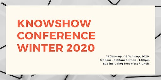 KNOWSHOW Winter Conference 2020