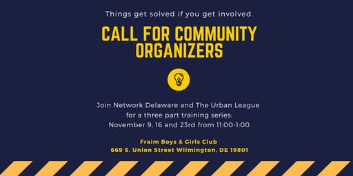 Community Organizer Trainings