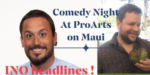 Maui Fall Comedy Series