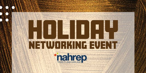 NAHREP  TPG : Holiday Networking Event