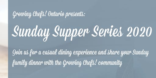 Sunday Supper Series - February Adult Ticket