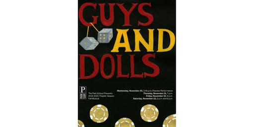 Fall Musical • Guys & Dolls • Preview Performance