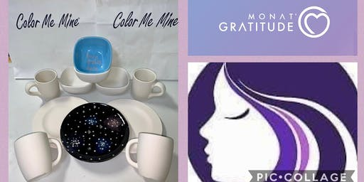Monat Paint for a Cause Fundraising Event